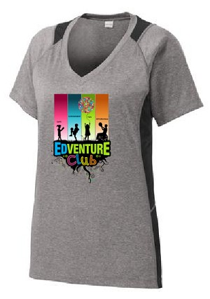 Edventure Club Ladies Moisture Wick Performance Shirt