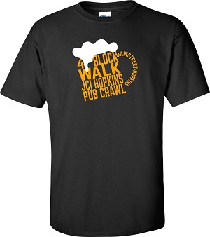 Adult 4 Block Walk T-Shirt