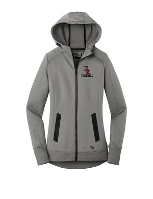 Ladies New Era Performance Fleece Full Zip Hoodie