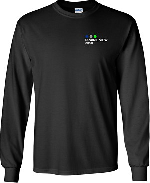 Adult Long Sleeve Choir Tee