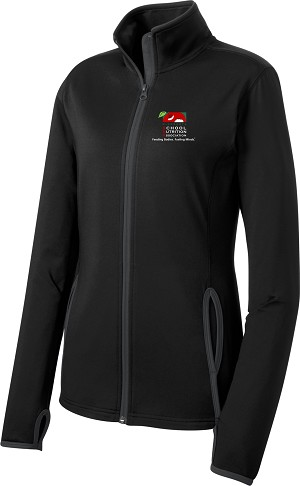 Ladies Stretch Full-Zip Jacket