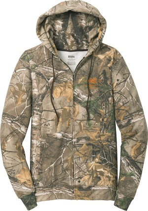 Russell Outdoors Realtree Full-Zip Hooded Sweatshirt