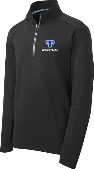 Adult Textured 1/4-Zip Pullover