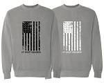 Comfort Colors Flag Sweatshirt