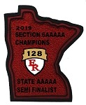 2019 State Semi Finalist Patch