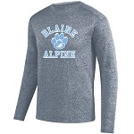 Heathered Performance Long Sleeve