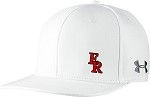Under Armour Flat Bill Cap w/ Football on Back