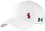 Under Armour Curved Bill Solid Cap w/ Football on Back