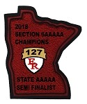 2018 State Semi Finalist Patch