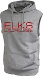 Adult  Sleeveless Fleece Hoodie