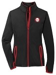 Ladies Sport-Wick® Stretch Contrast Full-Zip Jacket