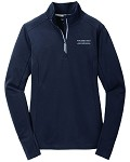Ladies Sport-Wick® Textured 1/4-Zip Pullover