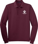 Long Sleeve Silk Touch Polo