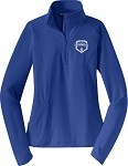 Ladies 1/2-Zip Pullover