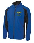 Mens Hornets Colorblock Soft Shell Jacket