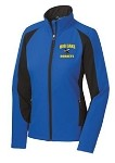 Ladies Hornets Colorblock Soft Shell Jacket