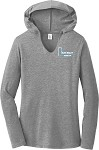 Ladies Perfect Tri Long Sleeve Hoodie