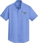 Adult Short Sleeve SuperPro Twill Shirt