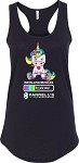 Ladies Unicorn Tank