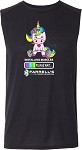 Adult Unicorn Sleeveless Tee