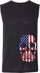 Adult Skulls Sleeveless Tee