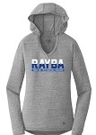 Ladies Tri-Blend Performance Pullover Hoodie Tee