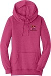 Ladies Lightweight Fleece Hoodie