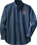 Adult Long Sleeve Denim Shirt