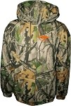 In Play Adult Camo Full-zip Hooded Sweatshirt