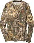 Russell Outdoors Realtree 100% Cotton Long Sleeve T-Shirt