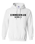 Youth Cotton Hooded Sweatshirt