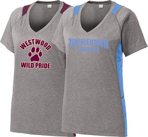 Ladies V-Neck Contender Tee