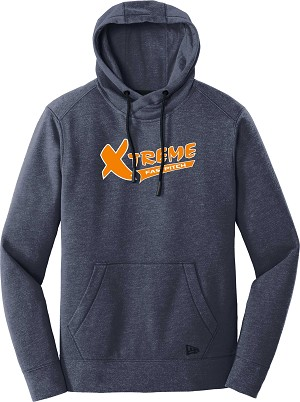 New Era Tri-Blend Fleece Pullover Hoodie